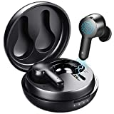 Wireless Earbuds Active Noise Cancelling Bluetooth,Tribit FlyBuds NC Earphones Deep Bass 4 Microphones
