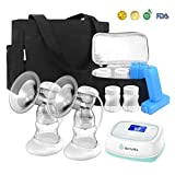 BelleMa S3 Double/Single Breast Pump with Tote and Cooler Pack,...