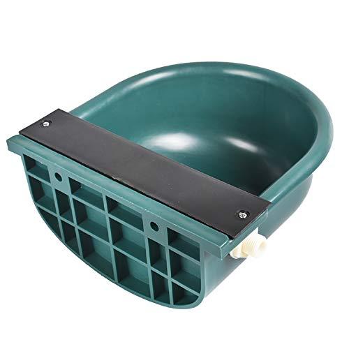 AISENPARTS Bebedero automático de Agua de 4L, válvula de Flotador automática, Cubo de Agua, Suministros agrícolas de plástico para ovejas, Perros, Caballos, Vacas, Cabras, Aves de Corral