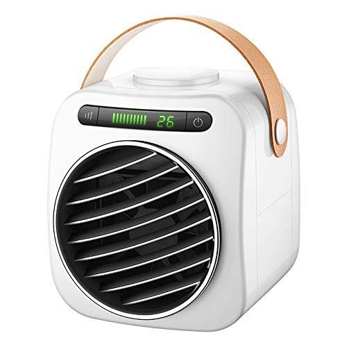 LIPETLI Enfriador de Aire, Mini Acondicionador de Aire MóVil, Climatizadores Evaporativos con FuncióN de HumidificacióN,