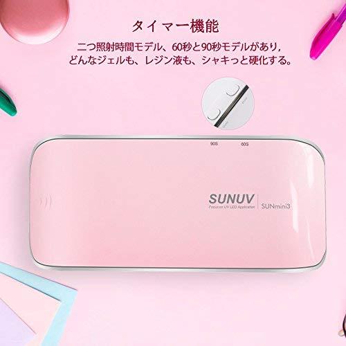 SUNUVSUNmini『小型UVLEDネイルランプ』