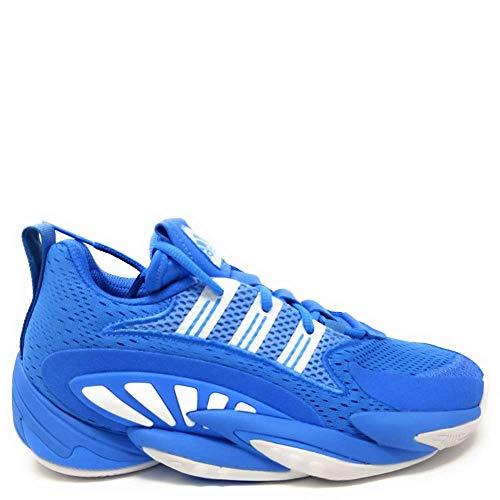 adidas Men's SM Crazy BYW 2-0 Team Basketball Team Light Blue/White/Team Light Blue 8.5