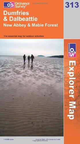 OS Explorer map 313 : Dumfries & Dalbeattie