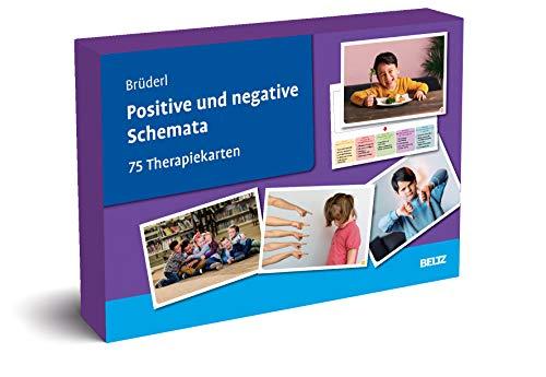 Positive und negative Schemata: 75 Therapiekarten. Kartenset mit 75 Karten in stabiler Box, mit 32-seitigem Booklet. Kartenformat 16,5 x 24 cm. (Beltz Therapiekarten)