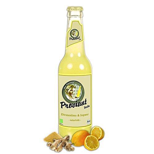 8 Flaschen Proviant Ingwer Zitrone Zitronenlimonade naturtrüb a 0,33L inclusive 0.64€ MEHRWEG Pfand