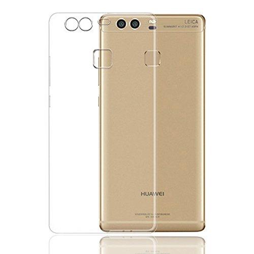 Eximmobile Silikonhülle für Huawei Ascend G630 | Handyhülle für hinten | Schutzhülle aus hochwertigem TPU | Handytasche mit gutem Schutz | Cover Hülle in transparent | Handy Tasche Silikoncase Etui