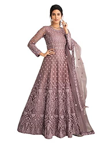 listo para usar Fiesta Indio Hermosa Red pesada vestido de boda largo musulmán Abaya Anarkali 6301 - - Large