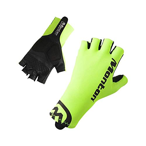 JIAHE115 Mini handschoenen Mountainbike racefiets rijden halve vinger handschoenen, anti-slip schokbestendige veiligheid unisex handschoenen