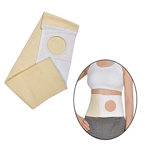 WUHX Cinturón de Soporte de Hernia Abdominal, Prevenir la Hernia paraestomal, Faja de Soporte Abdominal para Hombres y Mujeres