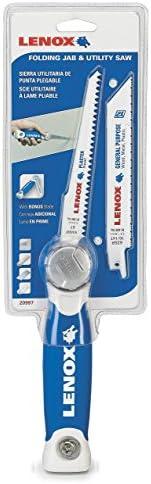 LENOX Tools Plastic Pipe Hand Saw, 18-inch (20980HSF18)