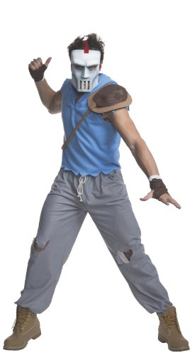 Rubie's Men's Teenage Mutant Ninja Turtles Casey Jones Adult Costume, Multi-Colored, X-Large