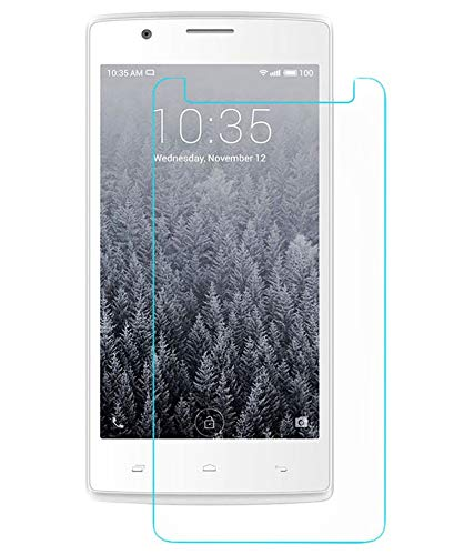 Timbu Edge to Edge Hammer proof screen guard 9H Hardness Anti Fingerprint Anti Glare 033mm HD+ view Crystal Clear Precusely Engineered Tempered Glass for Intex Aqua Ace Mini