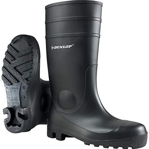 Dunlop-Schutzschuhe (DUO19) Dunlop Protomastor-Sicherheitsstiefel von Unisex, schwarz, 9 UK (42 EU)