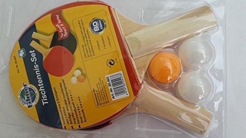 Racchette da ping pong-Set di alta qualità con 2 racchette e 3 palline qualità