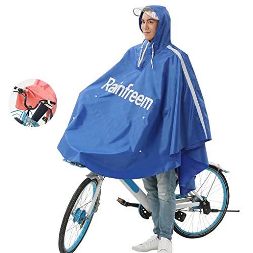 Motor Waterdichte verlengde poncho, Regenjas Elektrische scootmobiel Motorfiets Grote regenjas, Motorrijden Anti-condens regenkledinghoes met capuchon