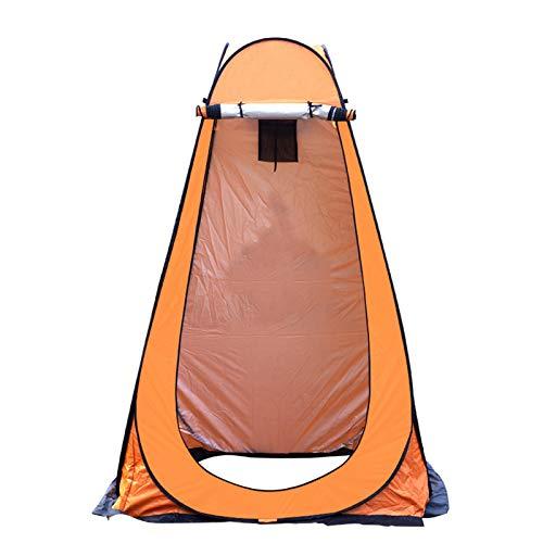 Tienda Baño Privacidad De Ducha,Tienda De Campaña para Cambiar La Playa Instant Pop UP Vestuario Individual Portátil Toldo De Refugio De Viaje Al Aire Libre con Bolsa,Orange