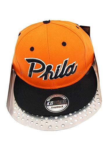 Hip Hop Caps - Casquette de Baseball - Homme - Multicolore - Orange / Black - Taille unique