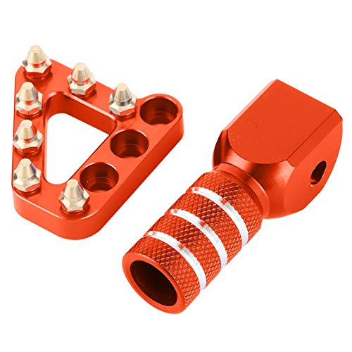 Step Tip Gear Shifter Pedal de Freno Step Tip antioxidante CNC Impermeable...