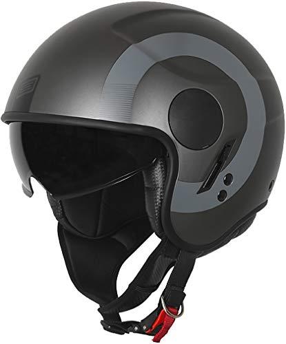 Origine Sierra Round Matt Black-Titanium  - TG XL