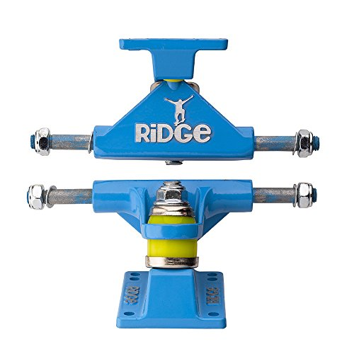 Ridge Skateboard Achsen für Mini Cruiser, Blue, TRUCKS-R22