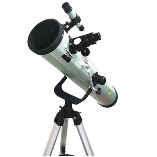 Telescopio Astronómico Profesional Dynasun 76-700 con Trípode en Aluminio