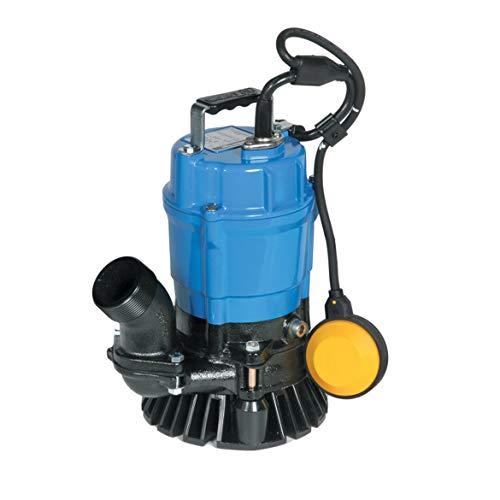 "Tsurumi HSZ2.4S; Float Operated semi-Vortex Submersible Trash Pump w/Agitator, 1/2hp, 115V, 2"" Discharge"