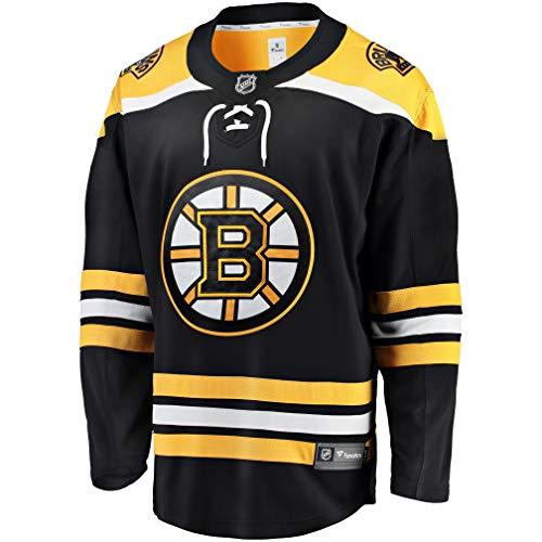 Fanatics Boston Bruins Breakaway NHL Trikot Home Schwarz, L