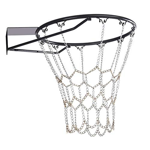 Lucky-all star Verzinkter Stahlketten-Basketballnetz für hohe Beanspruchung Basketball-Netto-Basketball-Tor-Netz Durable Standard Hoop