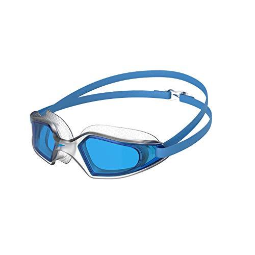 Speedo Hydropulse Mirror, Schwimmbrille Unisex-Adult, Blu, Taglia Unica