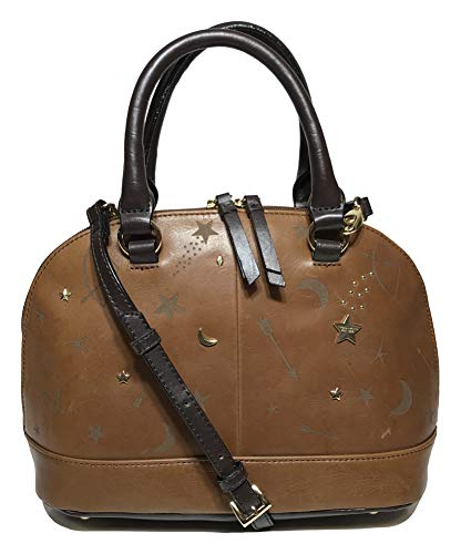 Tignanello Vintage Leather Andromeda Mini Dome Crossbody, Etched Rust