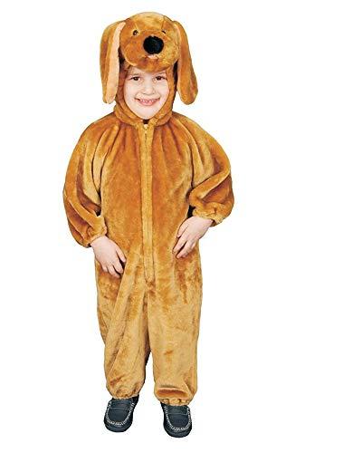 Dress Up America Sensacional Felpa marrón Perrito Disfraz para niños, Color, Talla 1-2 años (Cintura: 61-66, Altura: 84-91cm) (318-2)