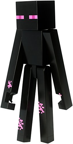 Product Image of the Mattel Minecraft Enderman Large Figure