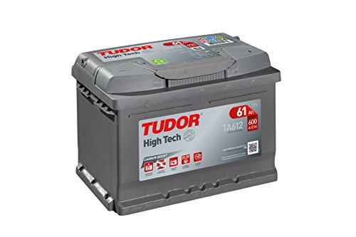 Batería para coche Tudor HIGH-TECH TA612 12V 61Ah