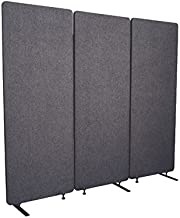 ReFocus Acoustic Room Dividers   Office Partitions – Reduce Noise and Visual Distractions with These Easy to Install Wall Dividers (72