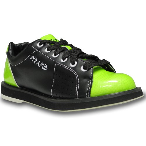 Pyramid Womens Path Bowling Shoes (Black/Lime Green, Size 9)