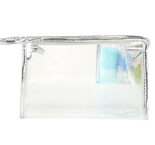 Joyfeel buy La version coréenne du sac cosmétique transparent version coréenne du sac de rangement portable sac de lavage sac de mode pvc