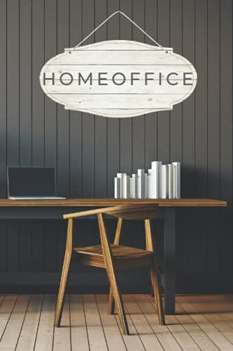 Home Office Notebook: Ideal 6x9 daily planner with to-do list, space for notes and other extras. Increases productivity and efficiency. Perfect gift for friends, relatives and work colleagues.