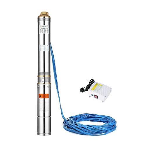 SWEEPID Screw - Bomba para pozos Profundos (Cable Plano de 30 m)