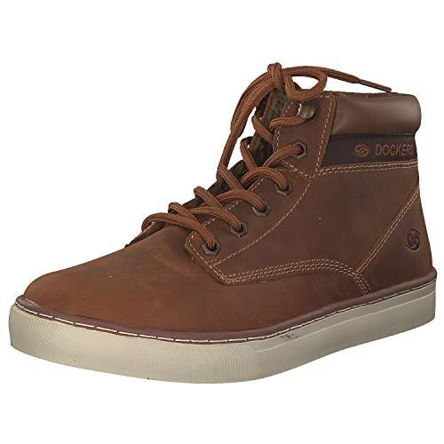 dockers Herren High Sneaker Braun, Größenauswahl:43