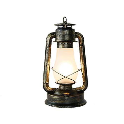 Zhenmu home Americana Dormitorio País Retro nostálgico de la cabecera del Arte Tabla lámpara de Escritorio de Madera Hecha a Mano del Arte del Estilo de país lámpara de Mesa