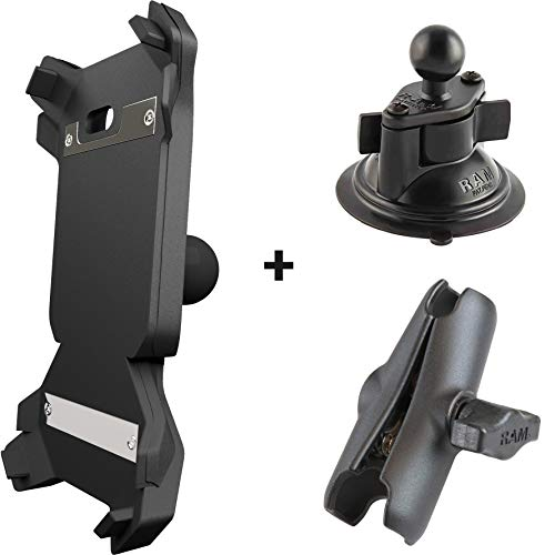 GETNORD Lynx Handyhalterung mit kabelloser Ladung und magnetischem Verschluss (Aufsatz für die Windschutzscheibe im Auto)