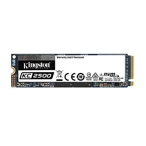 Kingston KC2500 NVMe PCIe SSD -SKC2500M8/1000G M.2 2280