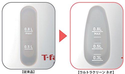ティファール電気ケトル0.8Lアプレシアウルトラクリーンネオ抗菌パールホワイトKO3901JP