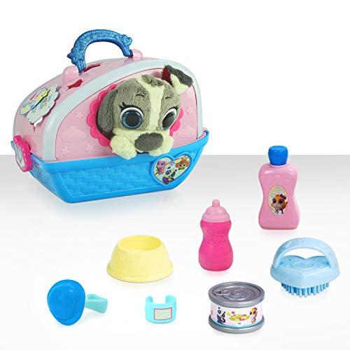 Disney Jr T.O.T.S. Care for Me Pet Carrier Pablo The Puppy (9 Pieces)