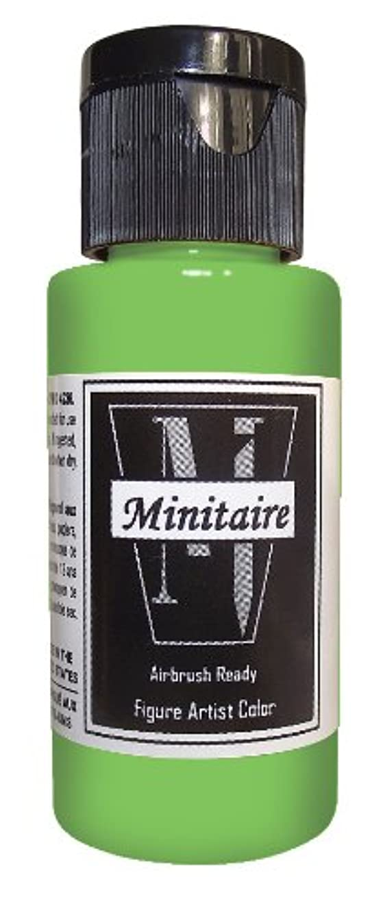 Badger Air-Brush Company 2-Ounce Bottle Miniature Airbrush Ready Water Based Acrylic Paint, Gremlin Green