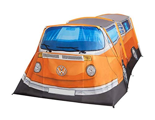VW T2 Bulli Zelt Camping Zelt für 3 Personen orange Retro Style NEU