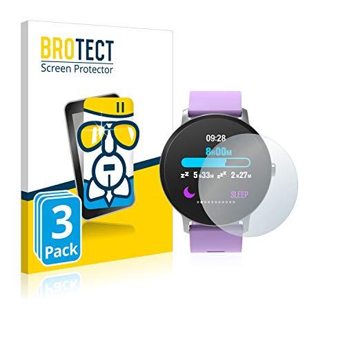 brotect Pellicola Protettiva Vetro Compatibile con BingoFit Epic Fitness Tracker (3 Pezzi) Schermo Protezione Durezza 9H, Anti-Impronte, AirGlass