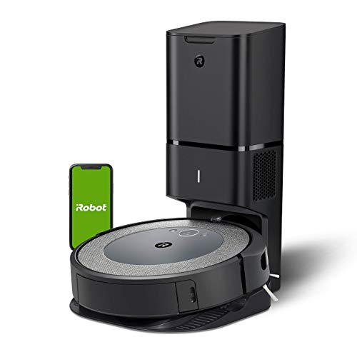 iRobot Roomba i3 Wi-Fi Robot Vacuum + Automatic Dirt Disposal (Renewed)