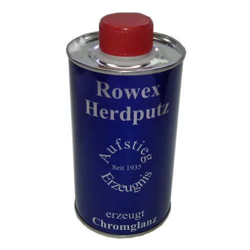 Rowex Herdputz für Herdplatten aus Stahl und Gasherde 375 ml