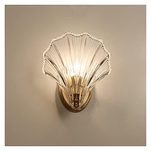 lámpara de pared Lámpara de pared de la lámpara de la pared del estancamiento del estancamiento del mar moderno de la sala de estar del dormitorio de la sala de baño de lujo de la pared de la pared de